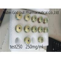 China Test 250 Testosterone Enanthate Injection 250mg / Ml Bodybuilding Cycle wholesale