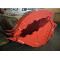 China Excavator Grapple Hydraulic Bucket Thumb Grapple With Grating Bucket wholesale