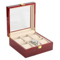Buy cheap wooden watch box from wholesalers