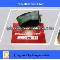 China Motorcycle natural rubber and Butyl rubber inner tube wholesale