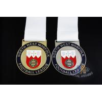 China Novelty Custom Baseball Medals , Kids Sports Medals Gold Silver / Copper Plating on sale