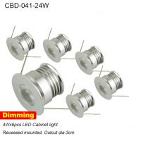 Buy cheap mini high quality saving energy dimmable round set led cabinet light 24w from wholesalers