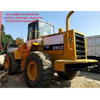 China Heavy Equipment Tcm 860 Payloader Used Condition 3m3 Bucket Capacity wholesale