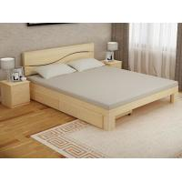 China Bedroom Modern Home Furniture Sets Wood Grain With Bottom Drawers wholesale