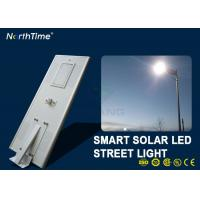 China 7000K 80 W Solar Powered LED Street Lights With Lithium Battery Motion Sensor wholesale