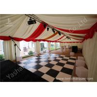 China Custmized Outdoor Tents Marquee Luxury Decoration for Wedding Parties wholesale