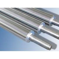 China Anti - corrosive Industrial Steel Rollers , Hard Chrome Plated Steel Roll wholesale