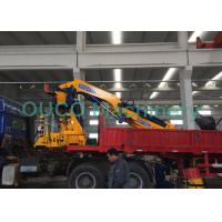 China High Safety Pickup Truck Mounted Jib Crane 22T 360 Degrees Continually Rotary on sale