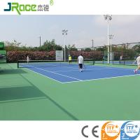 China Environmental material outdoor tennis court surfaces For School / Backyard wholesale