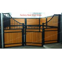 China 50x50mm Hdpe Board Horse Stable Partitions With Bamboo Equine Stall Plank wholesale