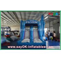 China Waterproof 0.55mm PVC Inflatable Bouncer Slide Castle Trampoline on sale