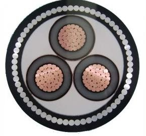 Quality OEM 3 Core Steel wire Armored Cable Low Smoke Zero Halogen Wire for sale