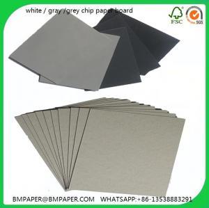 China Single ply grey board / Single ply grey chipboard / Single ply grey cardboard / Single ply wholesale
