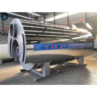 China Full Wet Back 1-20 Ton Industrial Diesel Fired Or Gas Fired Steam Boiler For Greenhouse wholesale