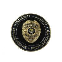 China Custom Gold Plating Army Challenge Coins / Souvenir Coins With Different Sides wholesale