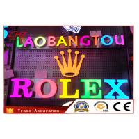 China Durable Multiple Shop Backlit LED Channel Letters For Outdoor Signs Waterproof wholesale