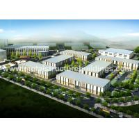 China Easy Install Prefab Warehouse Buildings , Lightweight Steel Frame Construction wholesale