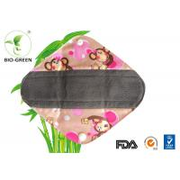 China Anti - Bacterial Reusable Sanitary Pads 5 Layer Super Absorb Available on sale