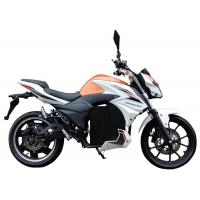 Buy cheap Electric Scooter Moped For Adults , Electric Ride On Moped Front And Rear Disc Brake from wholesalers