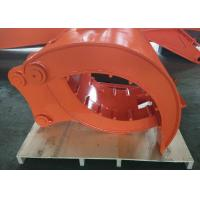 China High Performance Mechanical Grapples For Excavators Quick Hitch Joint wholesale