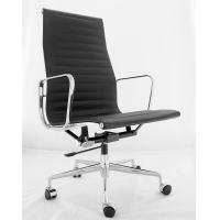 China Executive Modern Classic Office Chair Comfortable Heat Embossed Ribbing Back wholesale