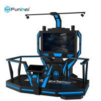 China Black 220V 9D VR Space Walk Virtual Reality Boxing Game Ride 0.9KW For Amusement Park wholesale