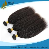 China 7A Free tangle Real Malaysian Virgin Hair Extensions Soft and smooth No Mixture wholesale