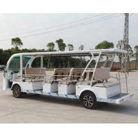 China 17 Seats Electric Shuttle Car For Square Electric Car Tour Steel Structure Plus FRP wholesale