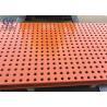China Large Open Area Interior Decoration Punching Metal Sheet Spray Coating Aluminium Material wholesale