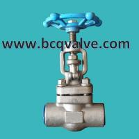 China HIGH PRESSURE forged stainless steel GLOBE VALVE on sale