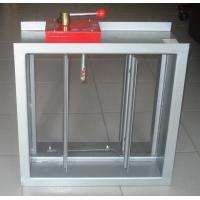 China galvenized fire and smoke control damper wholesale