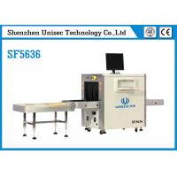 Buy cheap UNIQSCAN High Resolution Dual Energy SF5636 Xray Baggage Scanner from wholesalers
