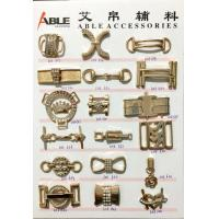 China Women Custom Made Metal Shoe Buckles Shoes Accessories For OEM Designs wholesale