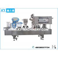 China Automatic Drinking Water Plastic Cup Filling and Sealing Machine on sale