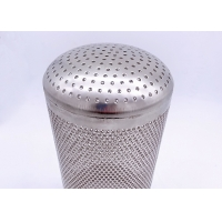 China Stainless Steel 1mm Hole MeshFilterStrainer SS 304 With Handle wholesale