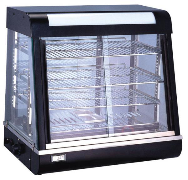 Glass Food Warmers ~ Glass food warmer display showcase images