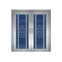 China Three Dimensional Residential Steel Security Doors With An Anti Theft Lock wholesale