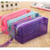 Buy cheap Custom EVA / PVC Pencil Bag Stationary Case , Clear PVC Cosmetic Bag from wholesalers
