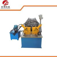 China C U Purlin Double Line Metal Stud And Track Roll Forming Machine Full Automatically wholesale