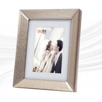 China 6 X 8 Beveled Glass Photo Frame , Modern Glass Picture Frames Rectangle wholesale