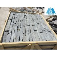 China Navy Quartzite Loose Pieces Ledge Stone Fieldstone Loose Strips Cultured Stone Veneer Wall on sale