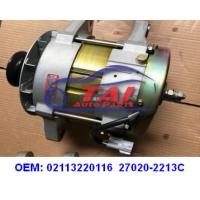China Starter Motor Vehicle Engine Parts 02113220116 27020-2213C FOR HINO 24V 120A wholesale