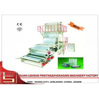 China Automatic Plastic film extrusion machine with high speed , 15-100r/min wholesale