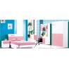 China MDF Modern children furniture children bedroom set wholesale