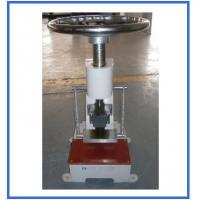 China 25mm Rubber Testing Machine , Plastic Leather Manual Sample Cutter wholesale