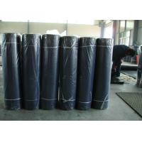 China Black Industrial Rubber Sheet 80+-5 Shore A Hardness 6-12Mpa Tensile Strength wholesale
