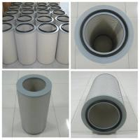 China pleated Air dust filter cartridge for dust collector of steel grinding processing wholesale