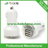 Car Cigarette Powered Dual 2 USB Adapter Charger for Mobile phone