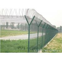 China Powder Coated Farm Mesh Fencing Security For Agriculture Planting wholesale