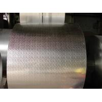 China Anodized Non Ferrous Embossed Aluminium Sheet With Five Bar Alloy 3003 wholesale